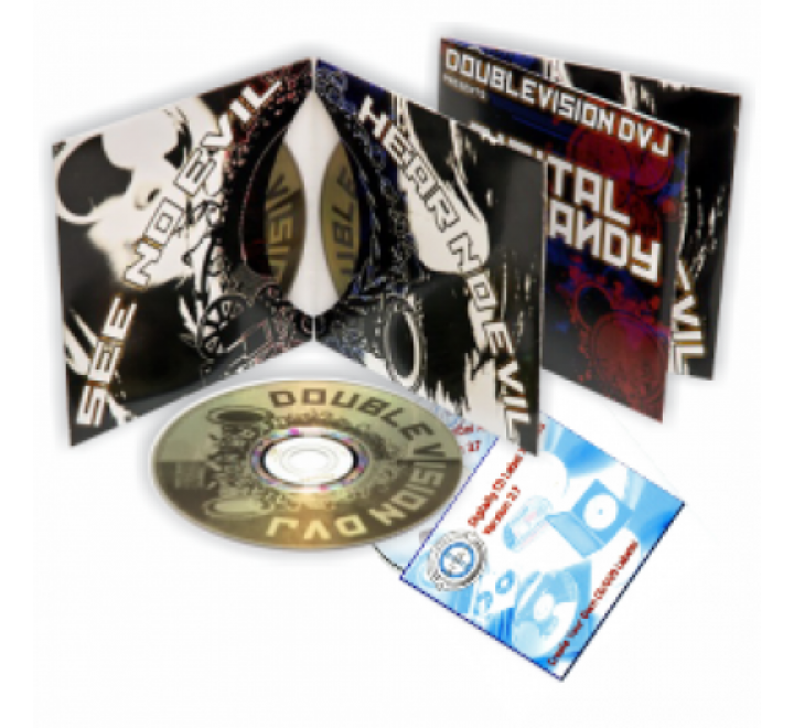 2 Panel CD Jackets / DVD Jackets